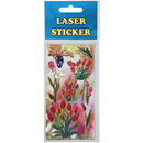 Laser Sticker in den Design Tulpen 2