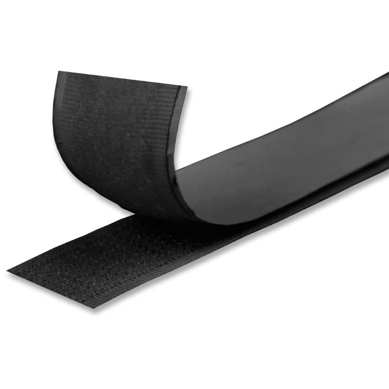und F/ügeanwendungen zu Hause und Arbeitsplatz Montage 11cm Breit und 1M Lang Schwerlast Klettverschluss f/ür Befestigungs- TEUVO Klettband Selbstklebend